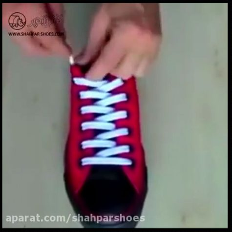 Interesting ways to fasten shoes